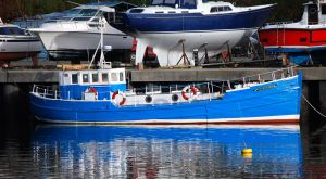 Scottish MFV trawler conversion for sale