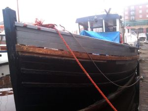 Converted MFV for Sale Scottish Fishing trawler