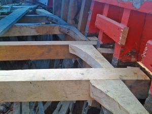 deck beam repairs trawler houseboat mfv conversion
