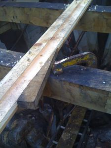 wooden mfv zulu fishing boat deck repair bevel seams and caulking