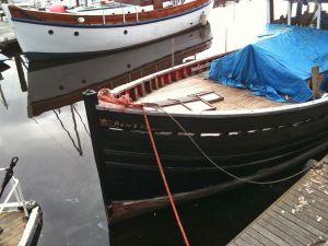 repairing a wooden deck