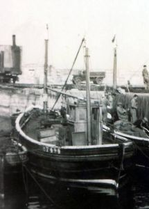 Zulu Fifie fishing boat trawler prior to being converted