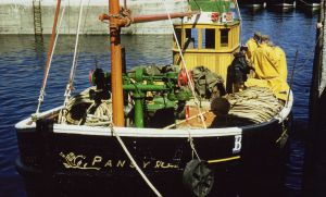 Scottish fishing boat Motor Zulu Fifie