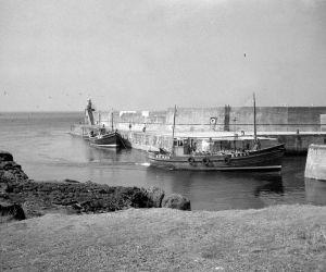 zulu fifie baldie fishing boat in whitehills